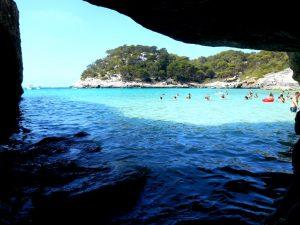 Menorca. Cala Mitjana