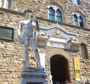 Florencia. David y Palacio Vecchio
