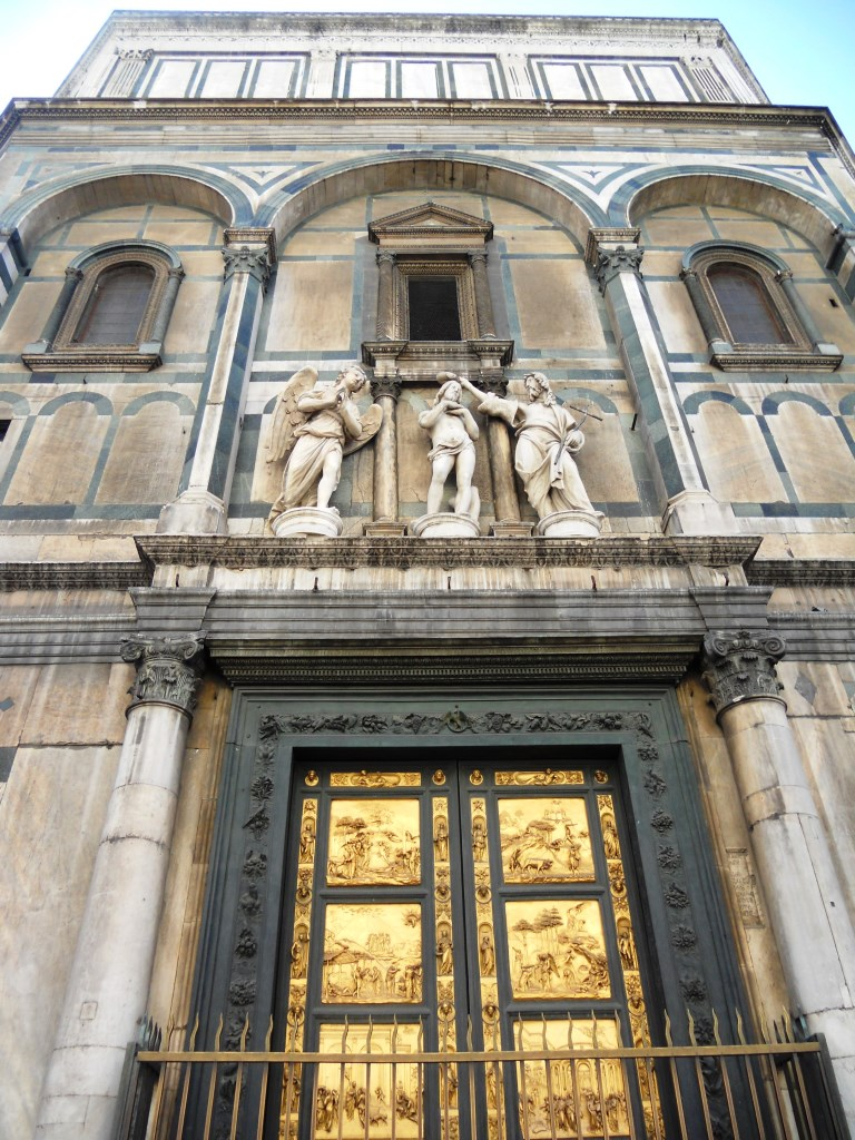 Florencia. Puerta del Paraíso.