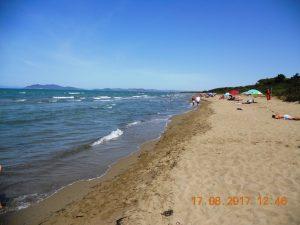 Argentario. La Gianella. Playa Paraíso.