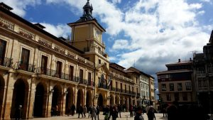 Oviedo Plaza del Ayuntamiento