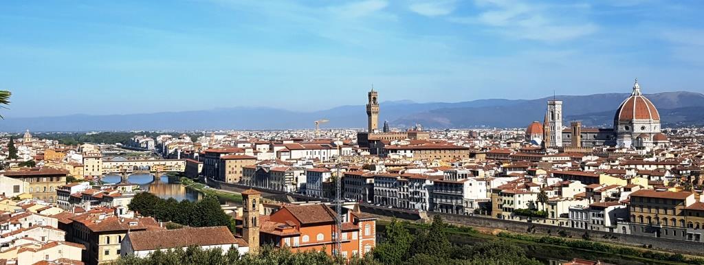 Piazza Michelangelo. Florencia