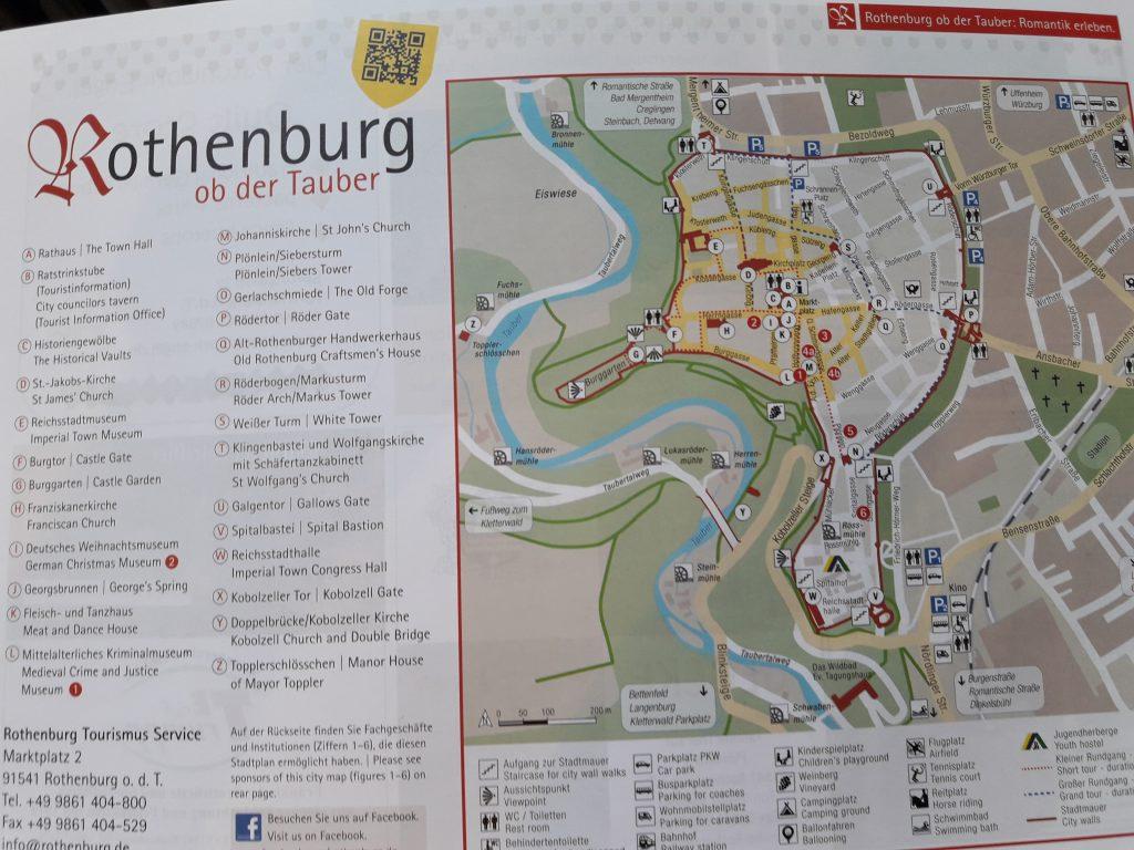 Plano de Rothenburg Ob Der Tauer