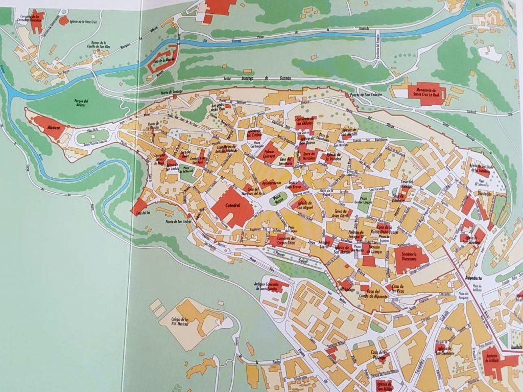 Plano de Segovia