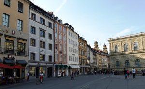Múnich. Residenzstrasse