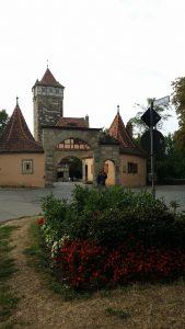 Rothenburg Ob Der Tauer. Puerta de entrada.