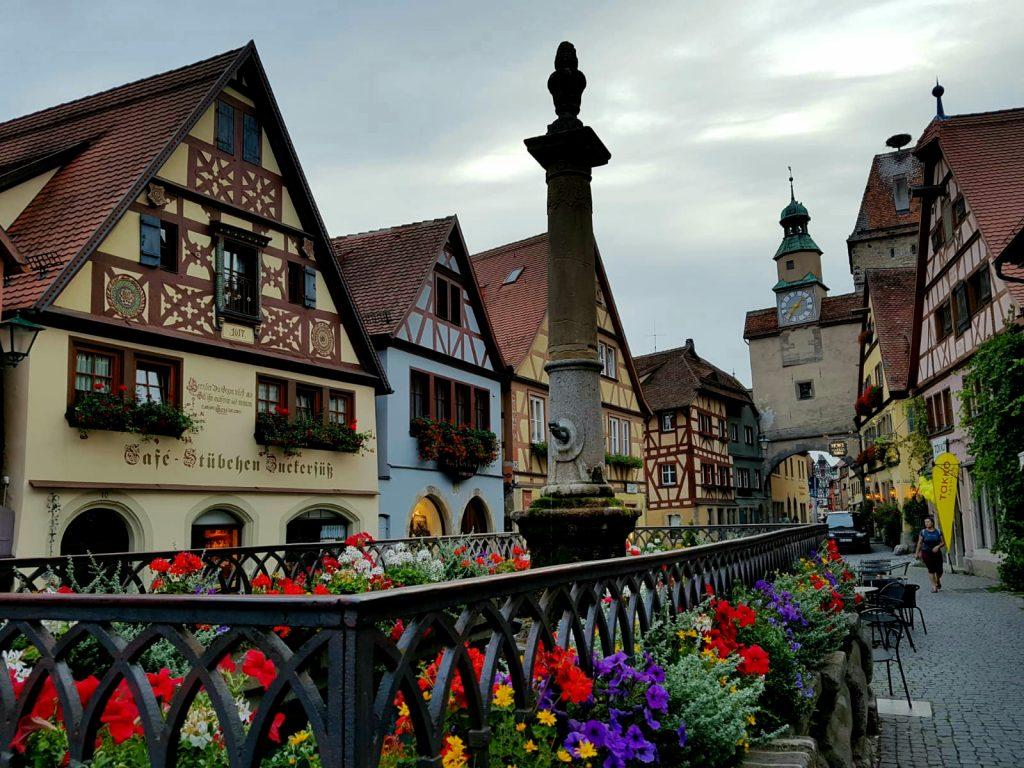 Rothenburg ob der Tauer. Hafengasse