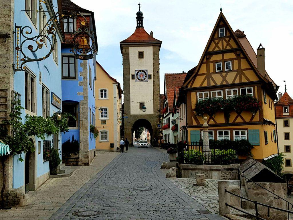 Rothenburg ob der Tauer. Plönlein.