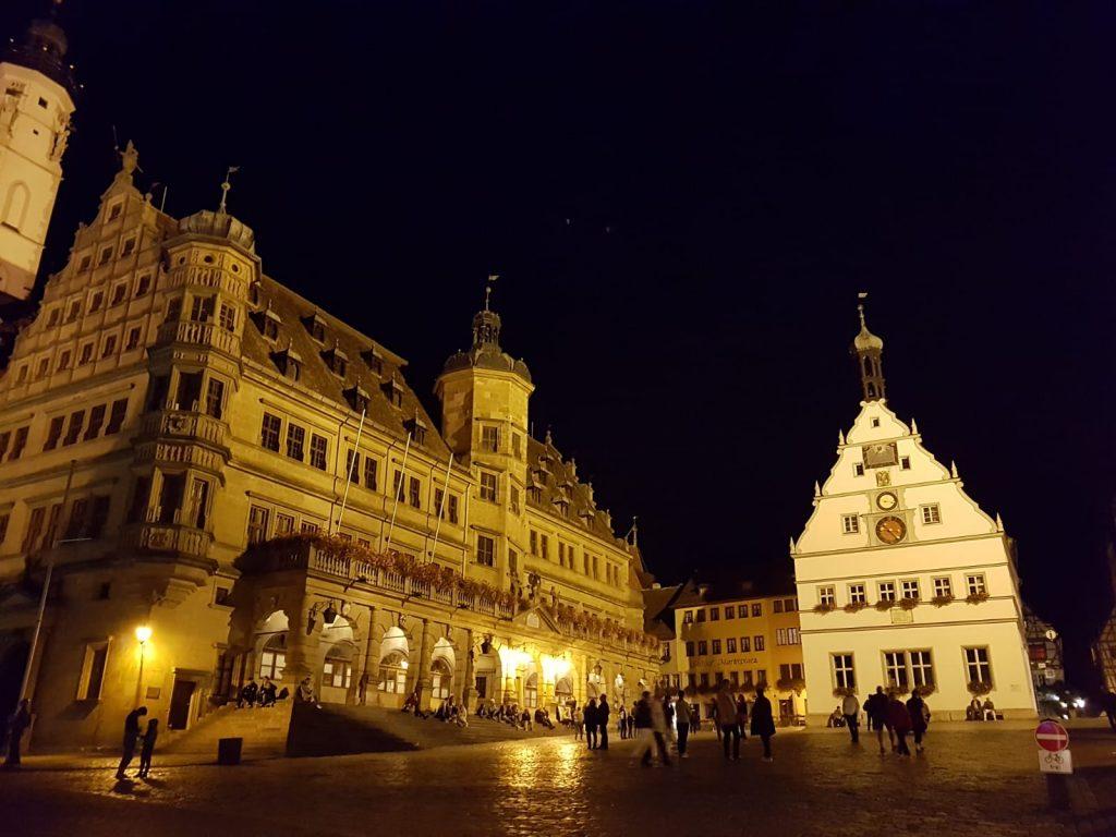 Rothenburg ob der Tauer. Marktplatz