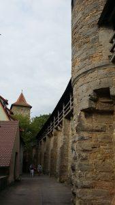 Rothenburg Ob Der Tauer. Muralla