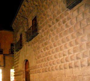 Segovia. Casa de los Picos.