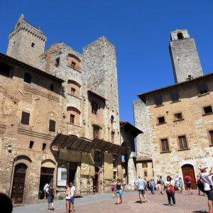 San Gimignano. Toscana. Italia.