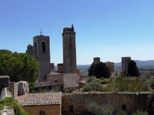 San Gimignano. Mirador de la Rocca