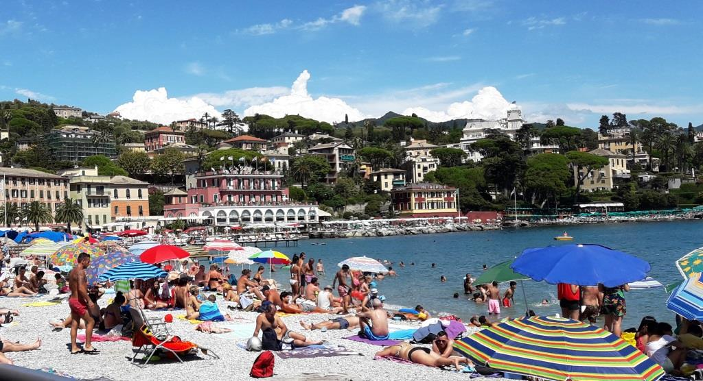 Santa Margherita Ligure. Playa