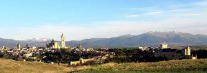 Segovia desde la Pradera de San Marcos.