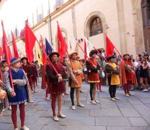 Siena. Desfile del Palio