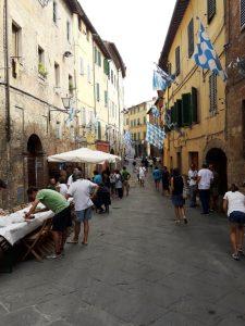 Via Casatto di Bottio. Siena