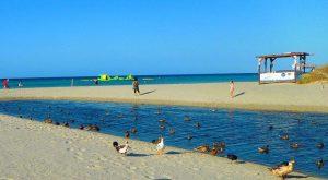 Menorca. Playa de Son Bou.