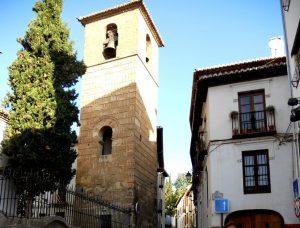 Granada. Albaicín. Minarete de San José.