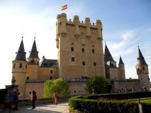 Segovia. Jardines del Alcázar