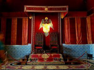 Alcázar de Segovia. Salón del Trono.