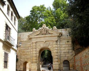 Granada. Puerta de las Granadas