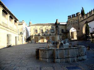 Baeza. Plaza del Pópulo