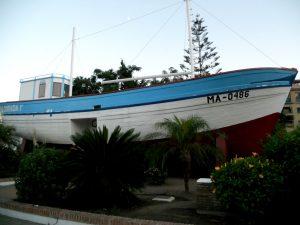 Nerja. Barco de Chanquete.