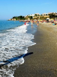 Nerja. Playa de Burriana