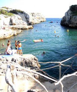 Menorca. Cala Forcat