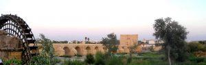 Puente romano y molino de la Albolafia. Córdoba