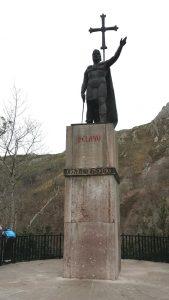 Covadonga. Don Pelayo