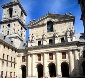 Monasterio de El Escorial. Patio de los Reyes
