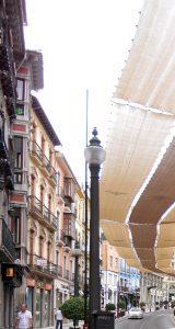 Granada. Calle de los Reyes Católicos.