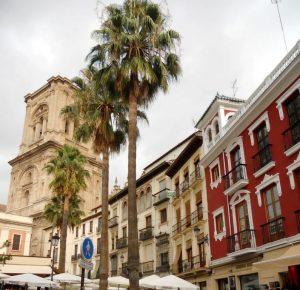 Granada. Plaza de la Trinidad.