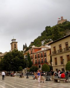 Granada. Plaza de Santa Ana