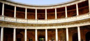 Granada. Alhambra. Palacio de Carlos V.
