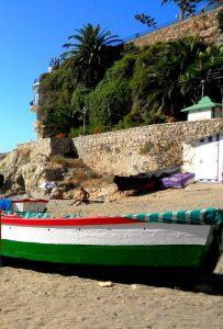 Nerja. Playa de Calahonda