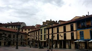 Oviedo. Plaza Daoiz y Velarde