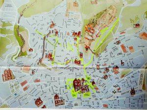 Plano de Granada.