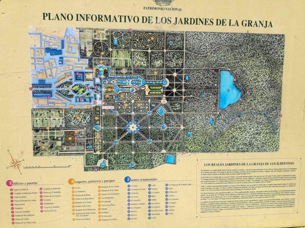 Plano de la Granja