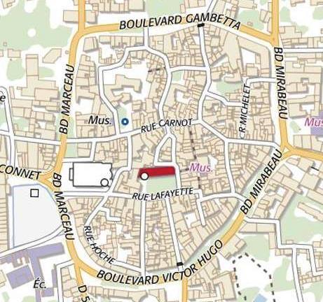 Plano de Saint-Rèmy -de-Provence