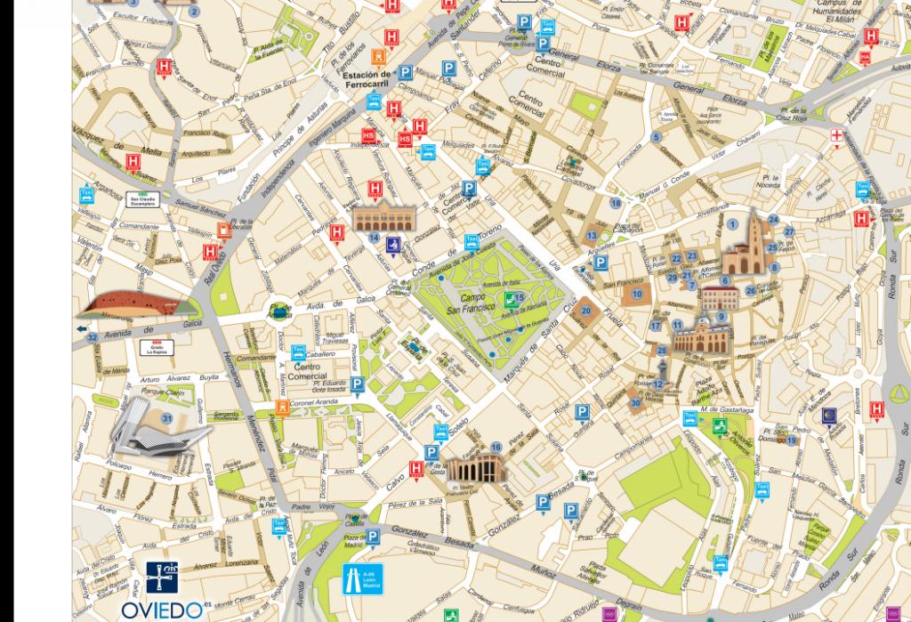 Plano de Oviedo