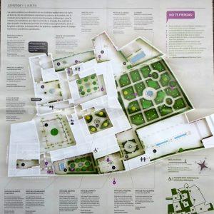 Córdoba. Plano Palacio de Viana