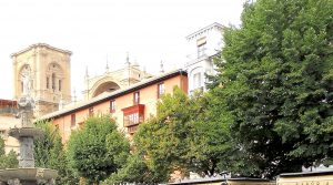 Granada. Plaza de Bib Rambla