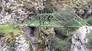 Ruta del Cares. Puente del Bolín.