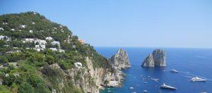 Capri. Farallones