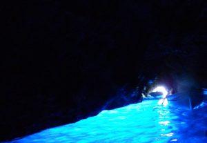 Capri. Gruta Azul.