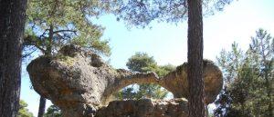 Ciudad Encantada. El Puente Romano