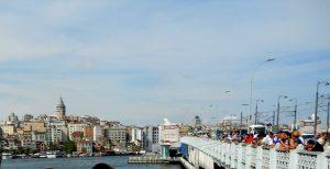 Estambul. Puente Gálata.